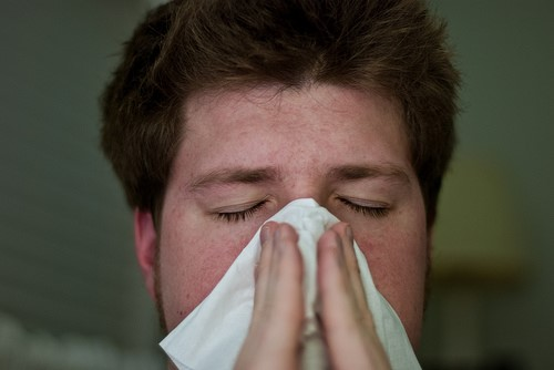 Man wiht hantavirus pulmonary sysndrome